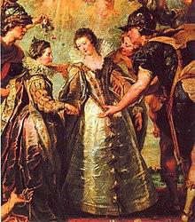 21 novembre 1615: Mariage du roi Louis XIII de France avec Anne d'Autriche 220px-AnnaofAustria06