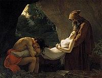 Anne-Louis Girodet De Roucy-Trioson - The Entombment of Atala - WGA09504.jpg