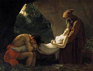 Atala au tombeau