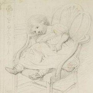 Anne Nasmyth - Anne as a child by her father