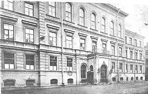 Saint Petersburg Lyceum 239 - Annenschule gymnasium in 1912.
