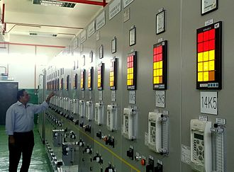 Annunciator panel - Alarm Annunciators Being Used In Electricity Distribution Substations