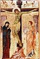 Anonimo veneziano sec. XIII XIV - Crocifissione di Cristo, Collezione privata, Firenze.jpg