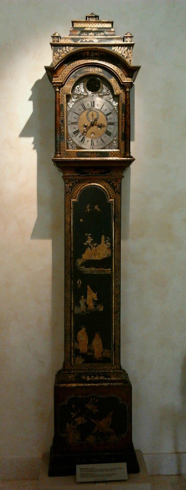 Anonymous Longcase clock 01