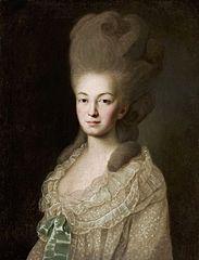 Portrait of Ludwika Borchowa née Zyberk.