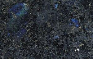 Anorthosite - Image: Anorthosit fin