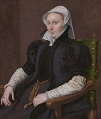 Portrait of Anne Fernely, pendant to Sir Thomas Gresham