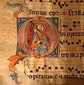 Antifonario IV della collegiata di guardiagrele, xiv secolo 02 san paolo.jpg