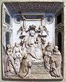 Antonello gagini (bottega, attr.), madonna col bambino in trono con santi e committente, 1500-1510 ca..JPG