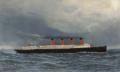 Antonio Jacobsen - The R.M.S. Lusitania under full steam - 1908.png