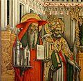 Antonio Vivarini and Antonio dell'Alemagna (left panel, detail) - Triptych of Accademia - Venice 2016.jpg