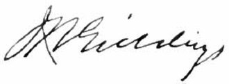 Joshua Reed Giddings - Image: Appletons' Giddings Joshua Reed signature