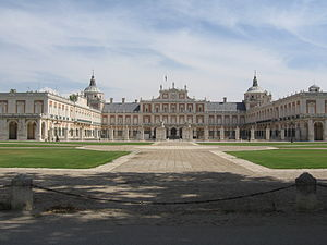 The Palacio Real de Aranjuez
