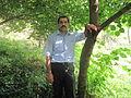 Araz Yaquboğlu 2012 Qax rayonunda.JPG