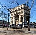 Arc de Triomphe à Paris en janvier 2020.jpg
