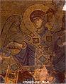 Archangel Gabriel - Gelati Monastery Byzantine Mosaic (circa 1125-1130).jpg