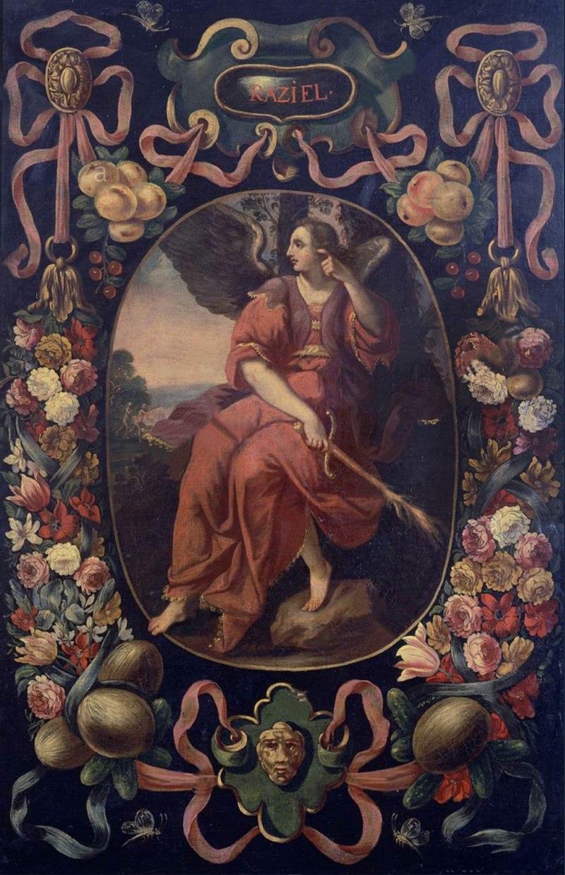 Archangel Raziel (Escuela Española).jpg