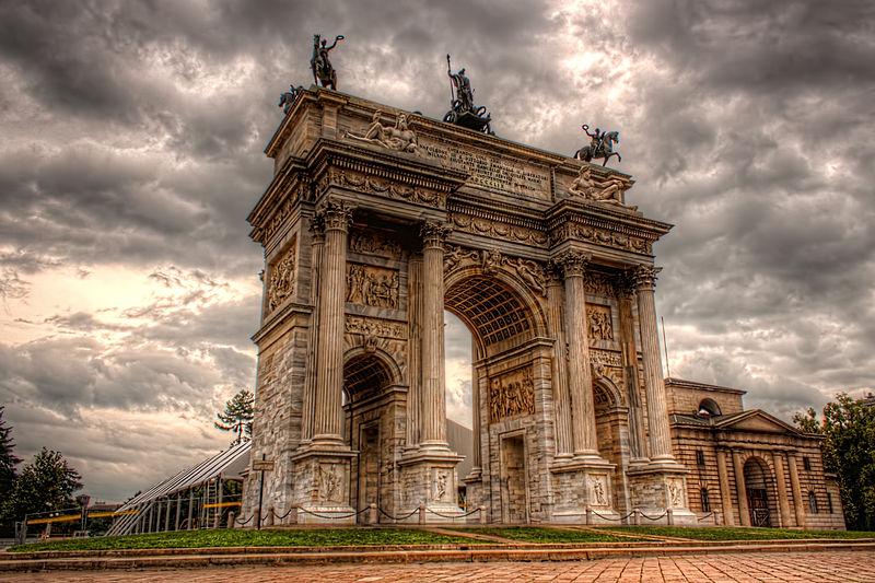 File:Arco della Pace, Milano.jpg