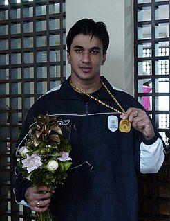 Arjun Muralidharan Indian swimmer