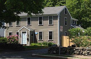 Capt. Benjamin Locke House building in Massachusetts, United States