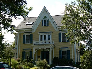 House at 45 Claremont Avenue - Photo taken in 2008
