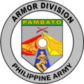 """Armor """"Pambato"""" Division, Philippine Army Logo.png"""
