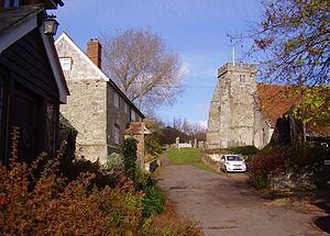 Arreton - Image: Arreton Old Village, IW, UK