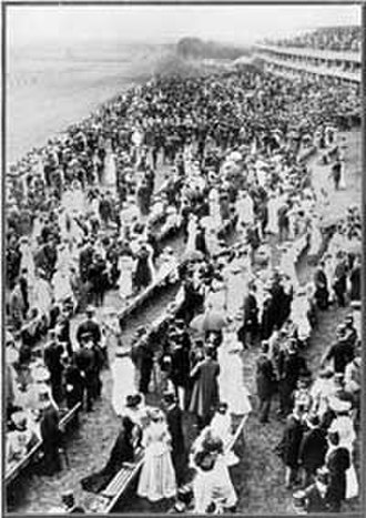 Ascot Racecourse - The Royal Enclosure on Cup Day, 1907
