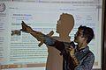 Atanu Saha Lecturing - Bangla Wikipedia National Seminar and Workshop - Hijli College - West Midnapore 2015-09-28 4310.JPG