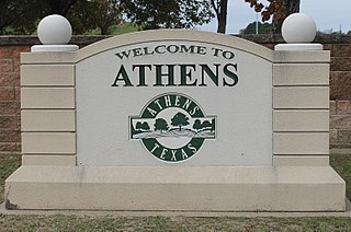 Athens, Texas City in Texas, United States