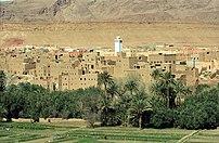 Atlas, Morocco, Dades Valley, Dades river, Bou...