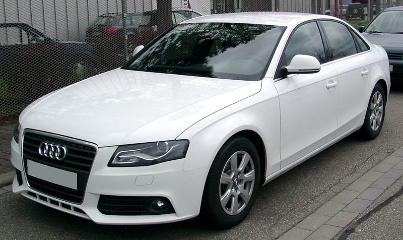 File audi a4 b8 front wikimedia commons for Interieur cuir audi a6