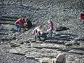 Auf der Suche nach Versteinerungen in Holzmaden - panoramio.jpg