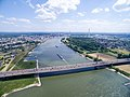 Autobahnbrücke Leverkusen A1 Stau (18064542793).jpg