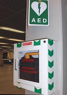Automatisierter Externer Defibrillator Wikipedia