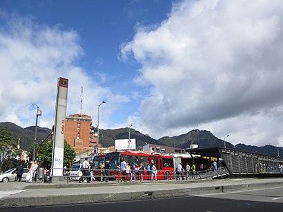 Cómo llegar a Calle 72a en transporte público - Sobre el lugar