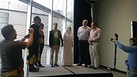 Avner and Darya's wiki Wedding at Wikimania by ovedc 06.jpg