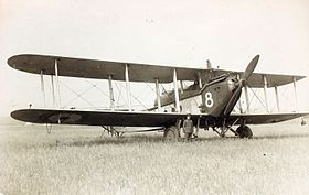 Un Avro Aldershot de la Royal Air Force.