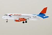 Azimuth, RA-89079, Sukhoi Superjet 100-95LR (41163439001).jpg