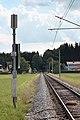 Bürmoos - Ort - Stierlingwaldstraße - Bahnstrecke Ostermiething - 2018 07 15-1.jpg