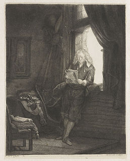 etching by Rembrandt (1647)