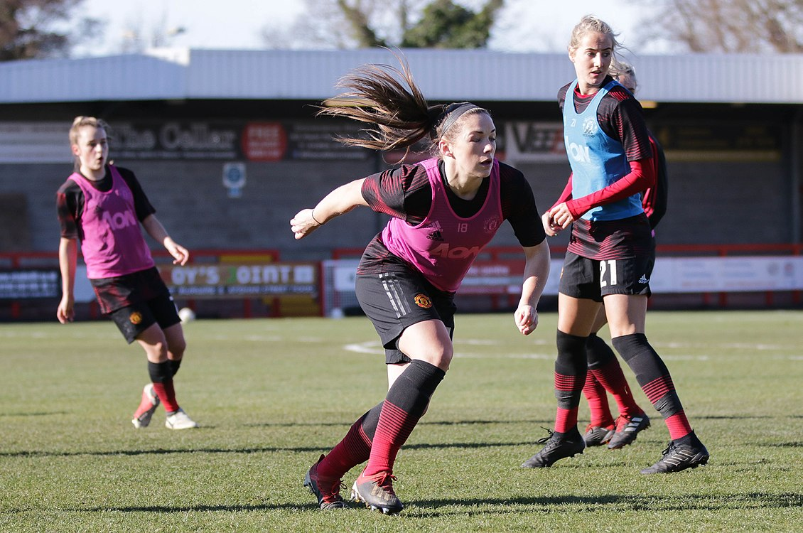 BHA Women 0 Man Utd Women 2 WFAC 4th rd 03 02 2019-122 (40021309333).jpg