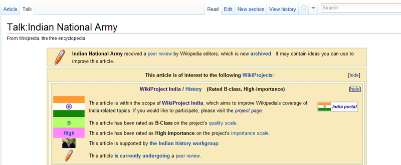 wikipedia wikiproject india assessment guide wikipedia