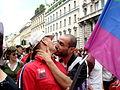 Bacio al Gay Pride di Milano 2008 2 - Foto Giovanni Dall'Orto, 7-June-2008.jpg