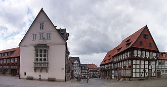 Bad Gandersheim - Marketplace