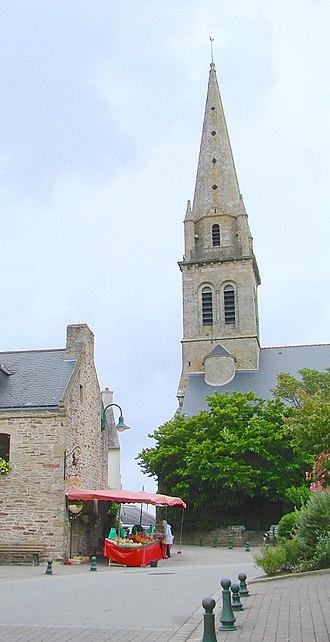 Baden, Morbihan - The church of St. Pierre