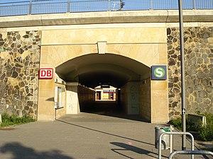 Dresden Mitte station - New pedestrian tunnel