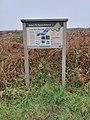 Baker's Pit Nature Reserve information board.jpg