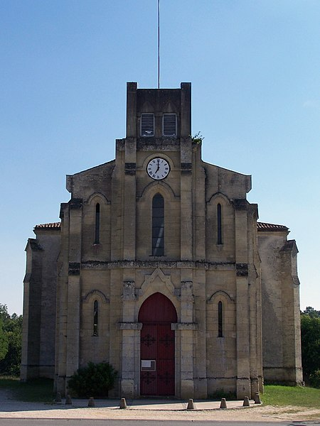 Church of Balizac (Gironde, France)