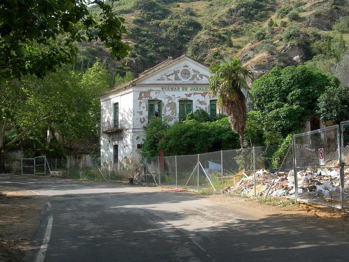 balneario y jardines de jabalcuz wikipedia la